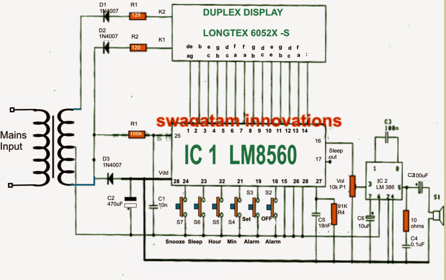 The Digital Time Clock Talked About And Also Provide Us The Way For Accompanying A Circuit Which Most Electronic Fans Would Relogio Digital Relogios Eletronica