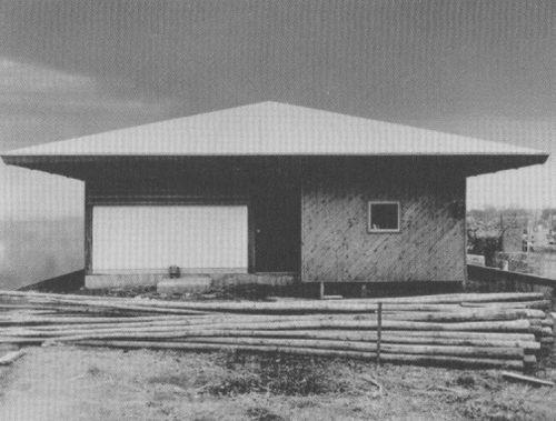 kazuo shinohara umbrella house tokio 1961 1 pinterest architektur japanische. Black Bedroom Furniture Sets. Home Design Ideas