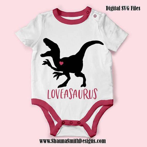 Loveasaurus Svg Valentine Svg Kids Valentines Day T Shirt