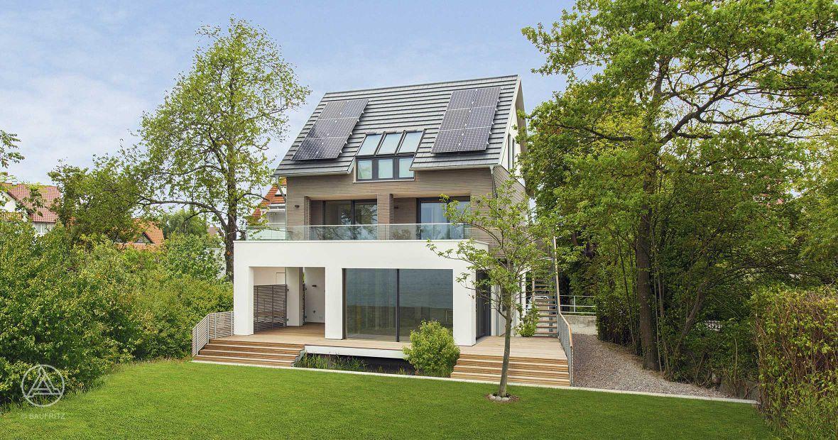 ökologisches Haus ökologisches holzhaus musterhaus haus am see house design