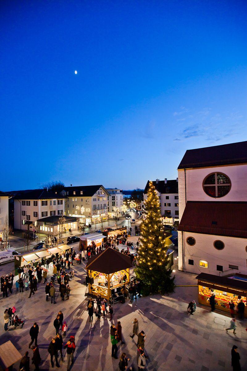 Starnberg Weihnachtsmarkt.Der Christkindlmarkt In Starnberg Hat Neben Den Marktständen Ein