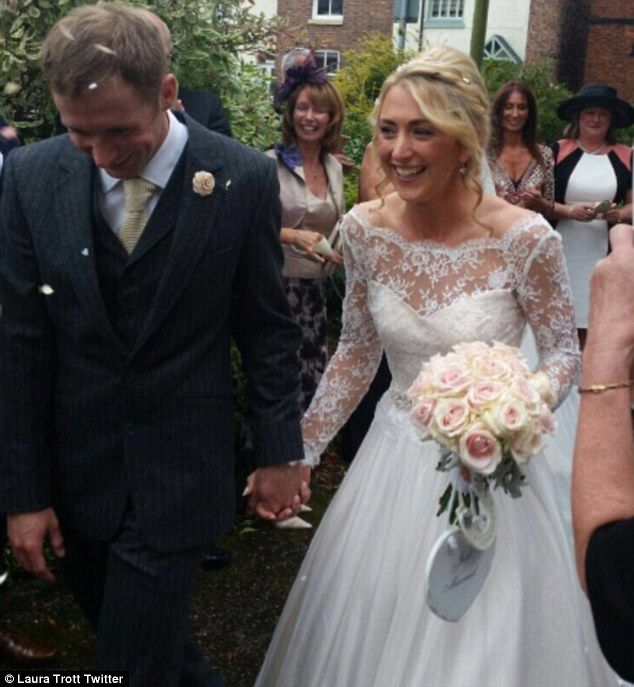Jason Kenny And Laura Trott Tie The Knot