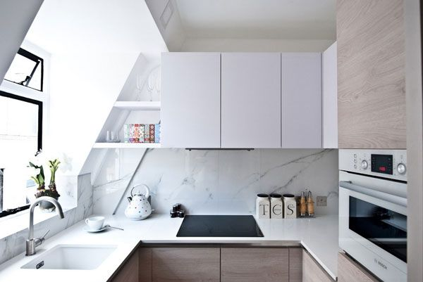 7 Ways to Make the Most of a Tiny Kitchen Custom cabinets