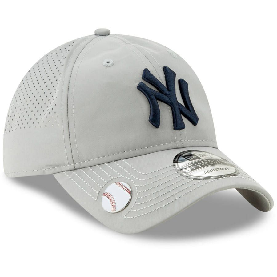 fe5abd2303a0c Men's New York Yankees New Era Gray Divot Ball Marker 9TWENTY ...