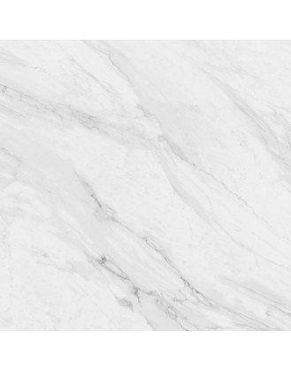 Calacatta Matt White Marble Effect Porcelain Tile 600x600