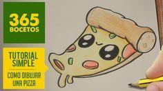Como Dibujar Una Pizza Kawaii Paso A Paso Dibujos Kawaii Faciles