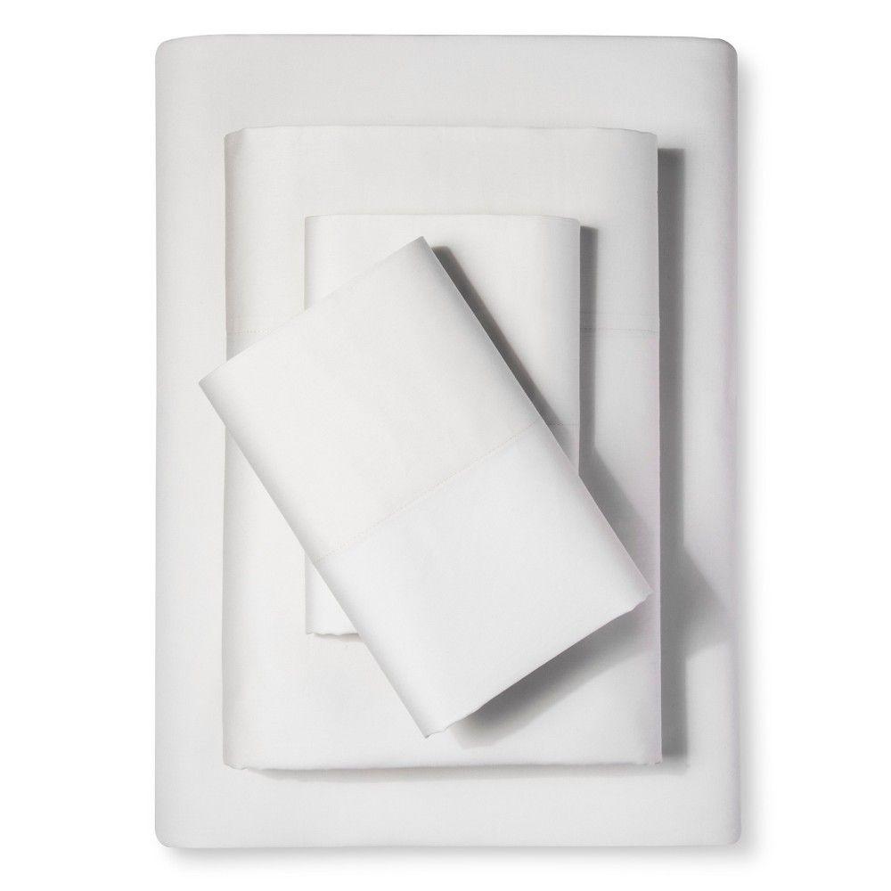 sheet set (twin) diamond ivory 300 thread count - nate berkus, Hause ideen