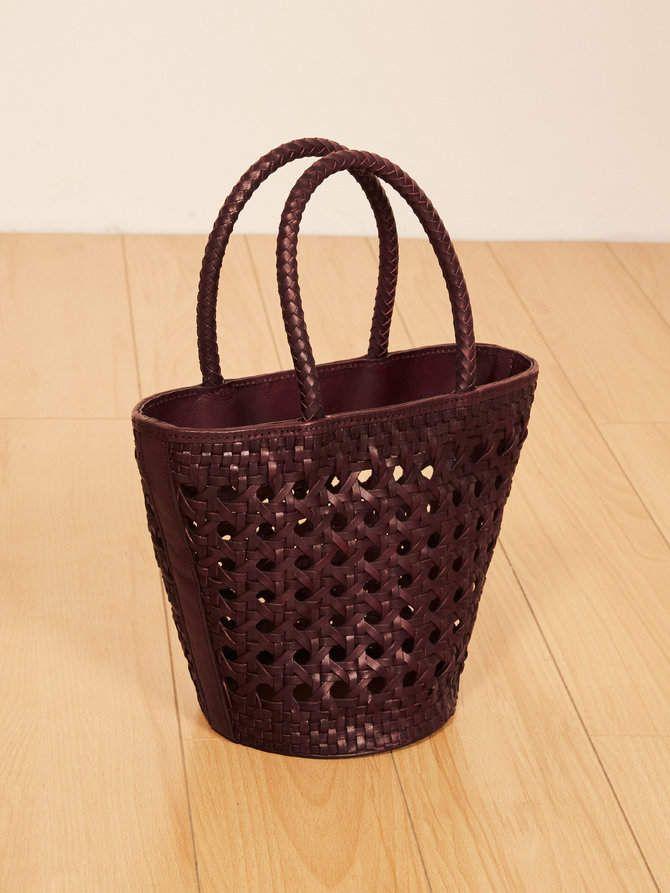 dda483917093 Reformation Woven Bucket Bag