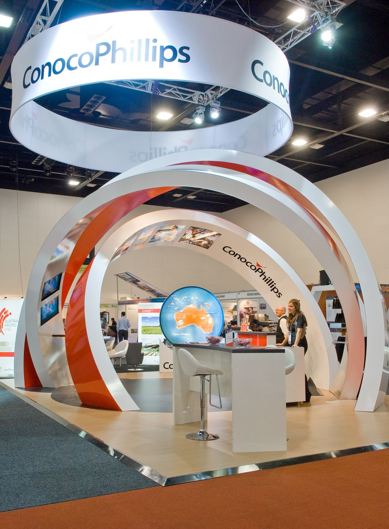 Exhibition Displays Adelaide : Conocophillips appea adelaide peoples choice award