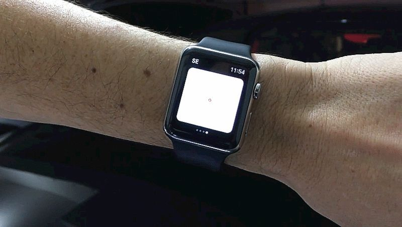 Watch This Guy Summon His Tesla With An Apple Watch