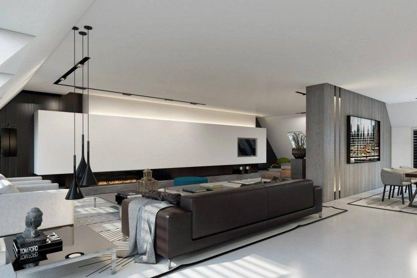 Apartment in Dusseldorf by Ando Studio (2) Design - estar Pinterest - wohnzimmer beleuchtung indirekt