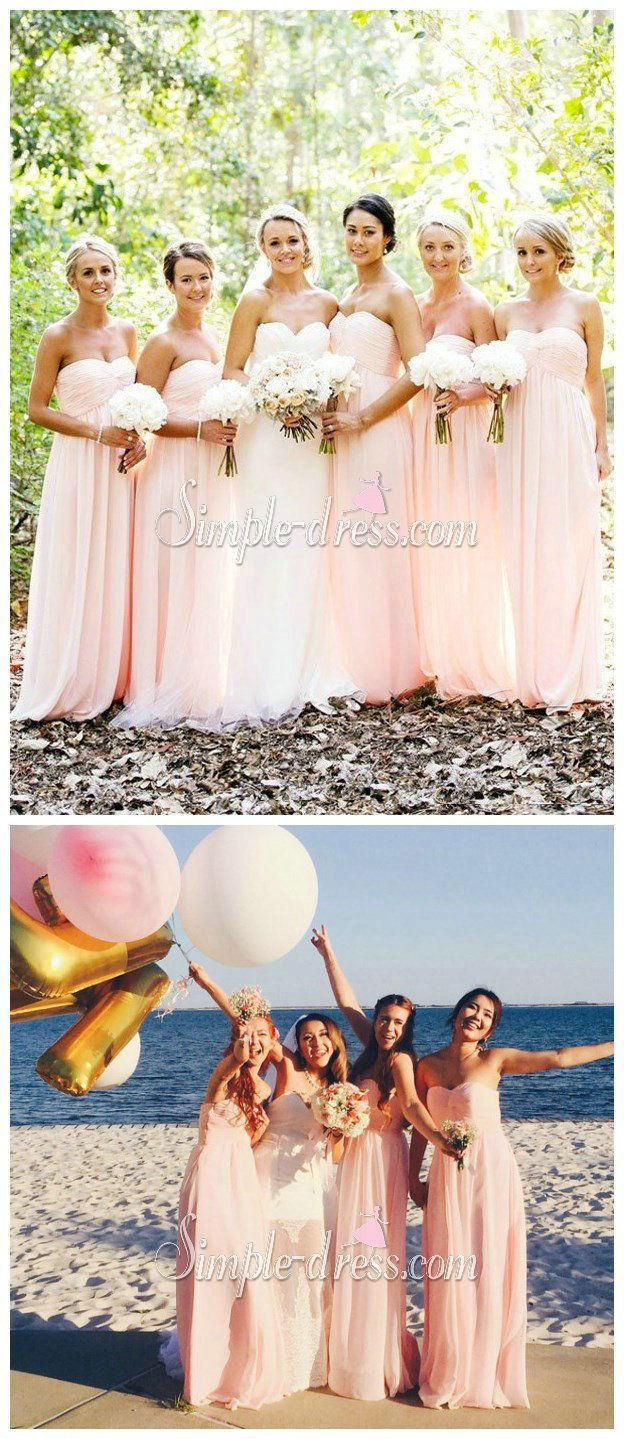 Pink bridesmaid dress strapless bridesmaid dress long bridesmaid pink bridesmaid dress strapless bridesmaid dress long bridesmaid dress chiffon bridesmaid dress bridesmaid dresses under 100strapless ombrellifo Images