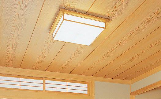 和室天井 製品情報 南海プライウッド株式会社 目透かし天井 和室