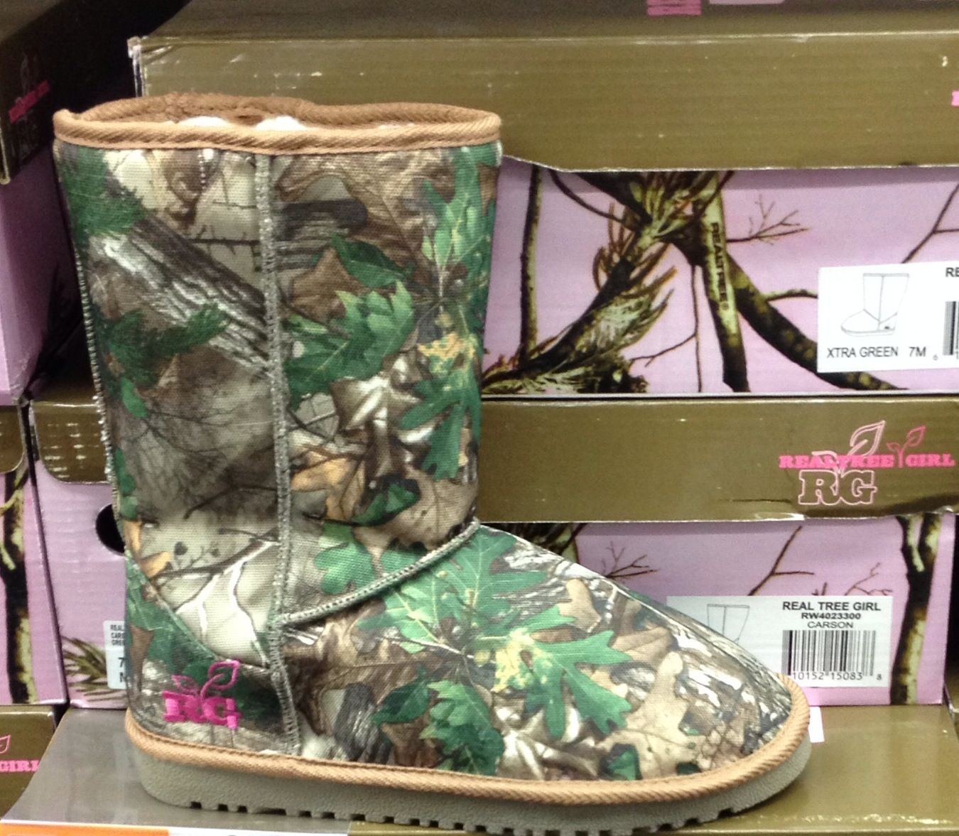 Realtree Love These My Hunting Lifestyle Camo Shoes