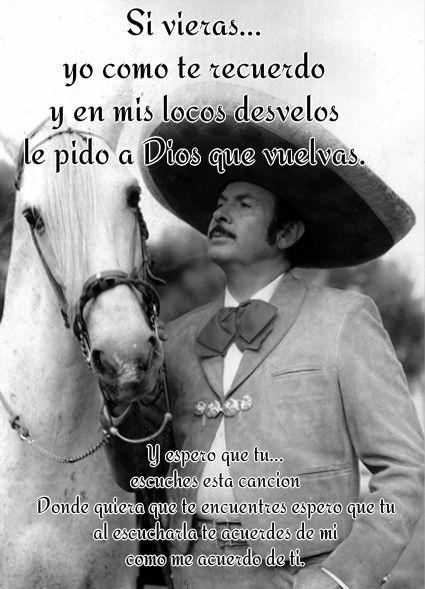 Triste Recuerdo Antonio Aguilar Chango Pinterest Frases