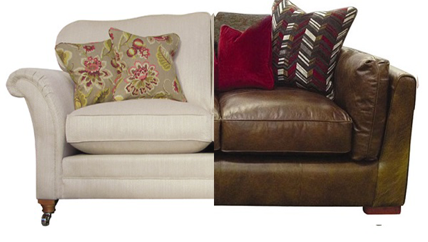 Leather Vs Fabric Which Do You Prefer We Have Both Sofa Sofa Stoff Sofa Design