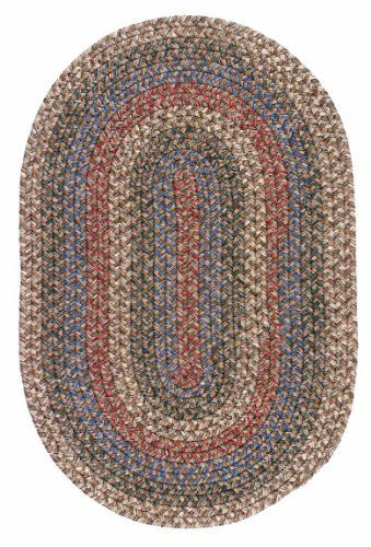 Colonial Mills L802 Lincoln Chocolate Rug Rug Size Oval 12 X 15 By Colonial Mills 1299 00 Weight Capacity Color B Braided Rug Diy Braided Rugs Diy Rug