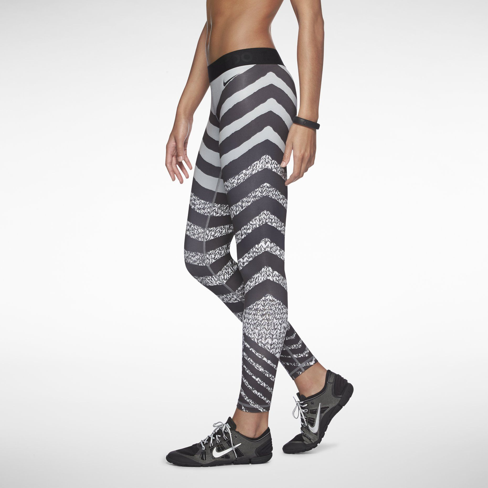 nike leggings zebra