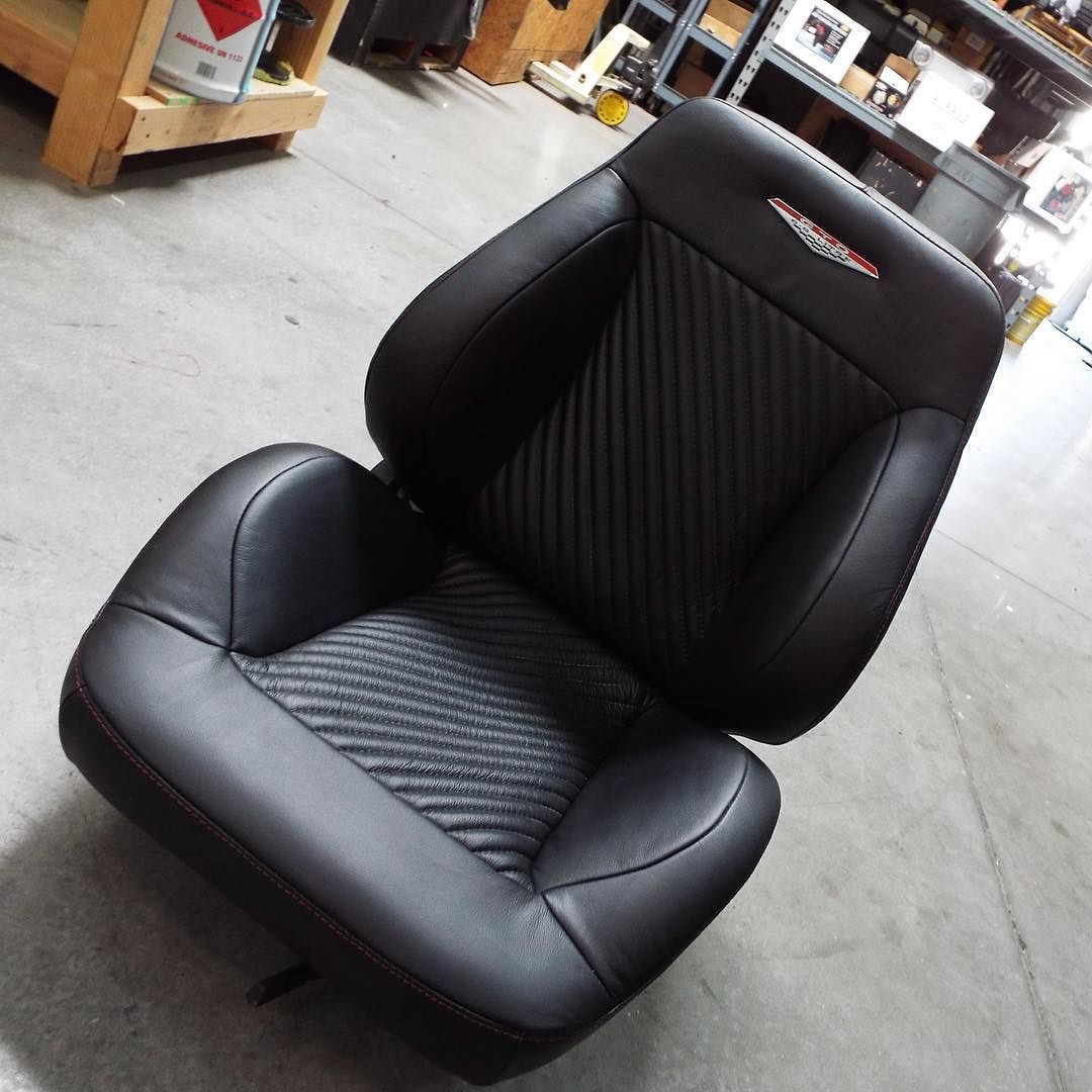 Completed Bucket Seat For The 1965 Gto Fesler