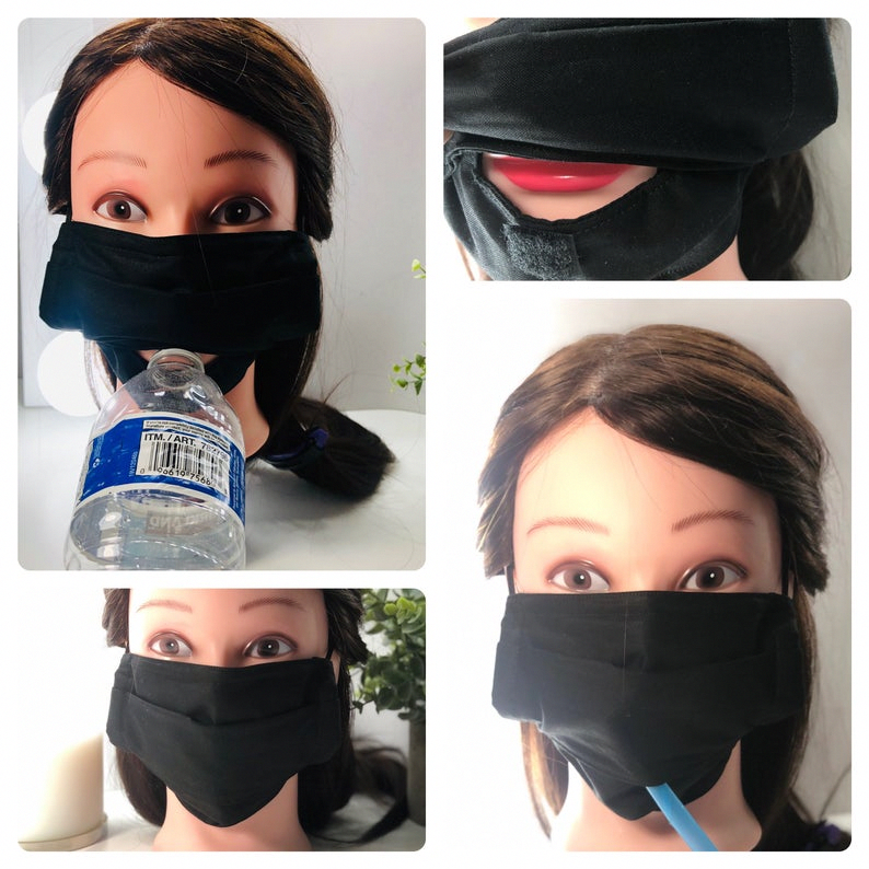 no sew face mask from a sock in 2020 Easy face mask diy