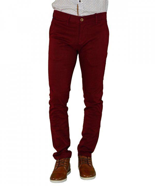 5ae4650b6383 Ανδρικό παντελόνι υφασμάτινο μονόχρωμο μπορντό Ben Tailor 0012017W   ανδρικάπαντελόνια  υφασμάτινα  μόδα  ρούχα  στυλ  χρώματα