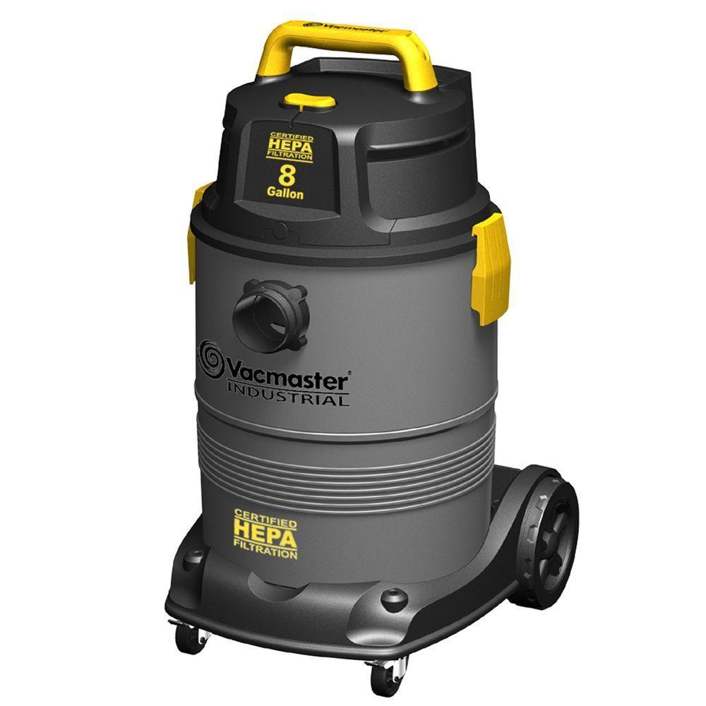 Hepa Vacuum With 2 Stage Motor Grays