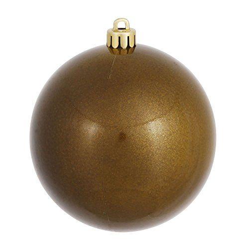 Vickerman Candy Finish Seamless Shatterproof Christmas Ball Ornaments