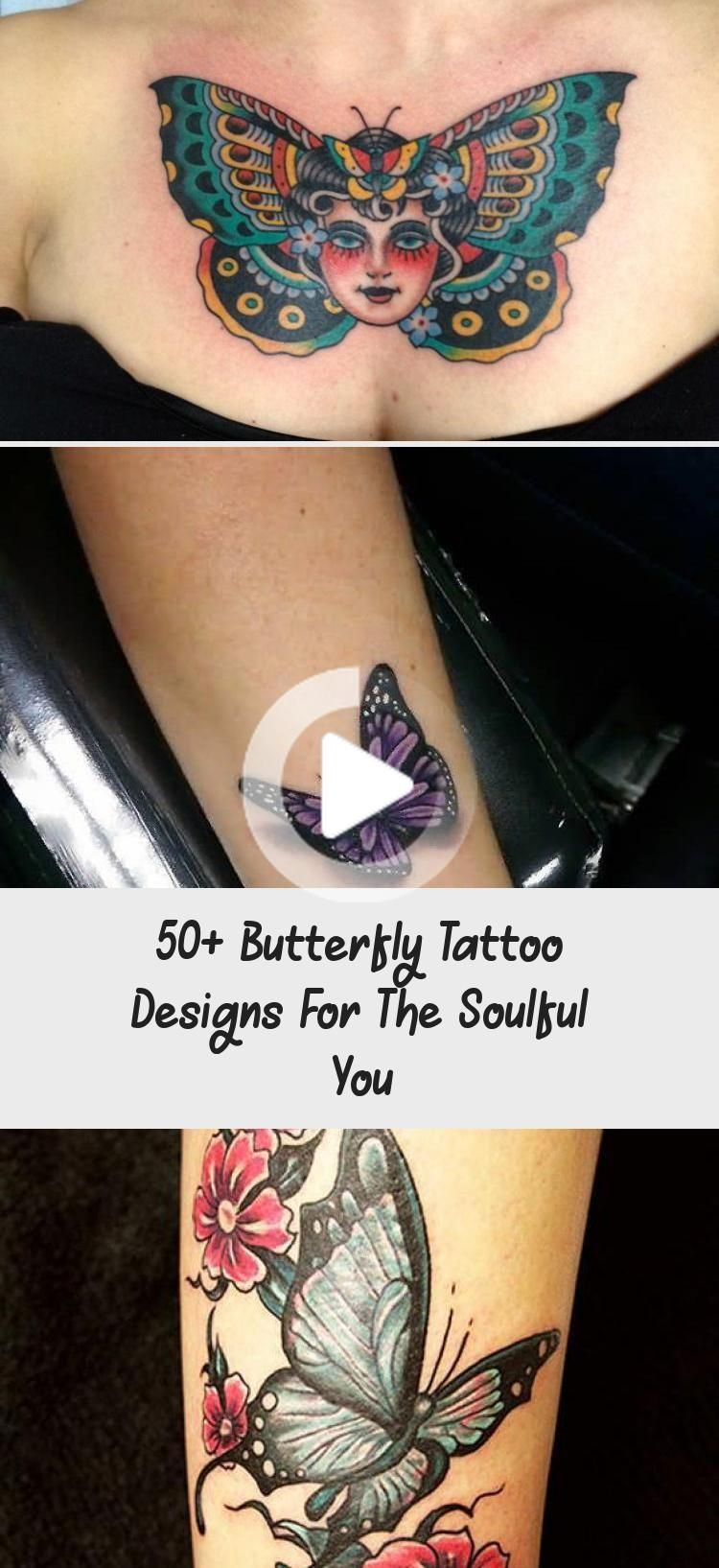 50+ Butterfly Tattoo Designs For The Soulful You - Tattoos and Body Ar