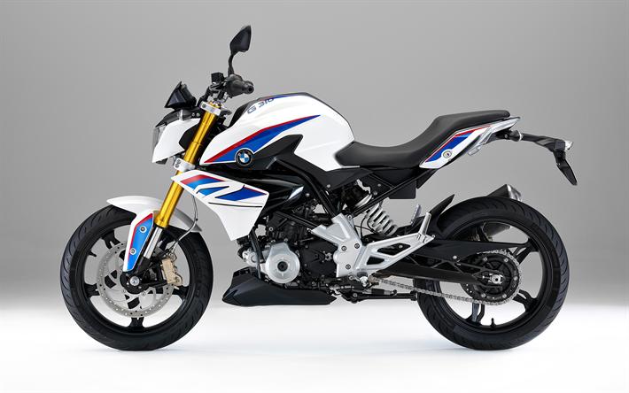 Download Wallpapers 4k, BMW G310R, Superbikes, 2018 Bikes