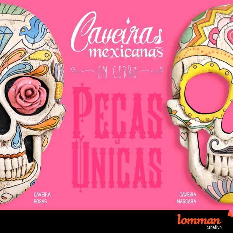 A caveira mexicana simboliza a vida e afasta os maus espíritos! Uma linda opção de peça para decoração ou um presente super alternativo. *pronta entrega grátis em Jundiaí, consulte frete para as demais regiões.