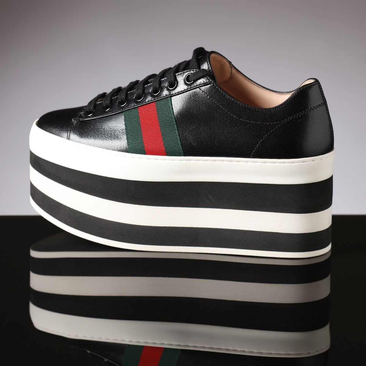 100% authentic 65537 de979 Heads above the rest in Gucci platform sneakers
