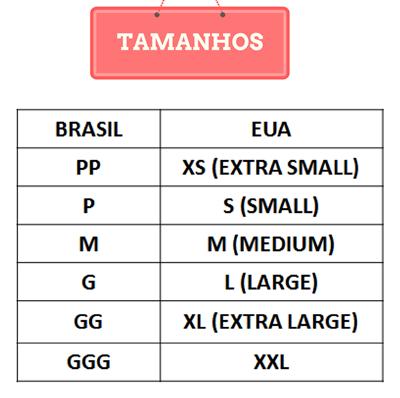 1bd73180d Tamanho de sapato e roupa EUA x Brasil in 2019