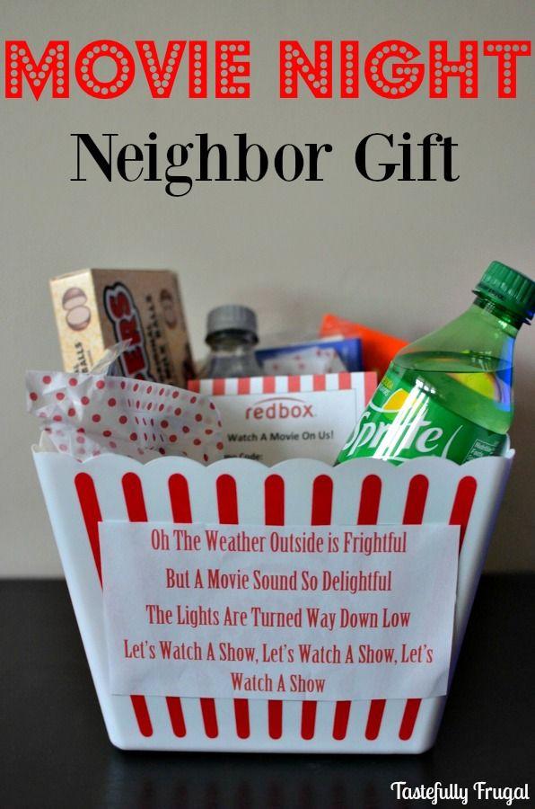 Movie Night Neighbor Gift | Tastefully Frugal | !!!ALL THINGS ...