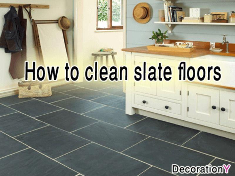 Cleaning Slate floors in 3 steps Slate flooring