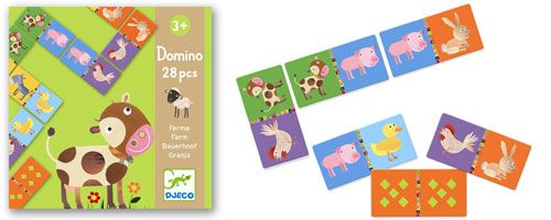 Really want to make my own set of these - Djeco Farm Domino Game - UrbanBaby