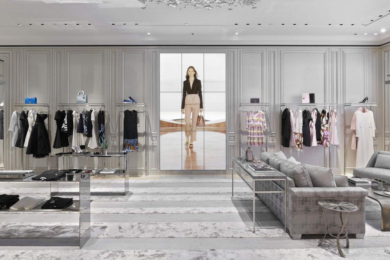 The Dior Boutique In Singapore Boutique Interior Store Design