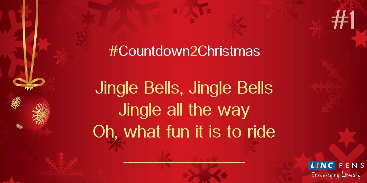 #Countdown2Christmas #JingleBells