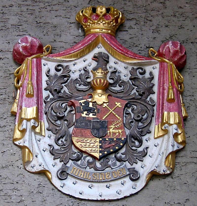 Schloss Sigmaringen Wappen Coat Of Arms Hohenzollern Castle Heraldry