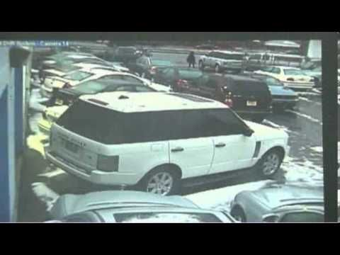 women steal range rover from dealership live video.