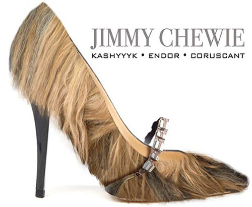 Jimmy Chewie - If Star Wars Collided With The Fashion Industry