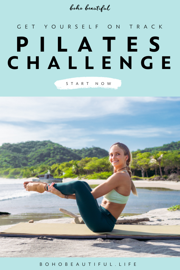 Get Yourself Back On Track Pilates Challenge - Boho Beautiful