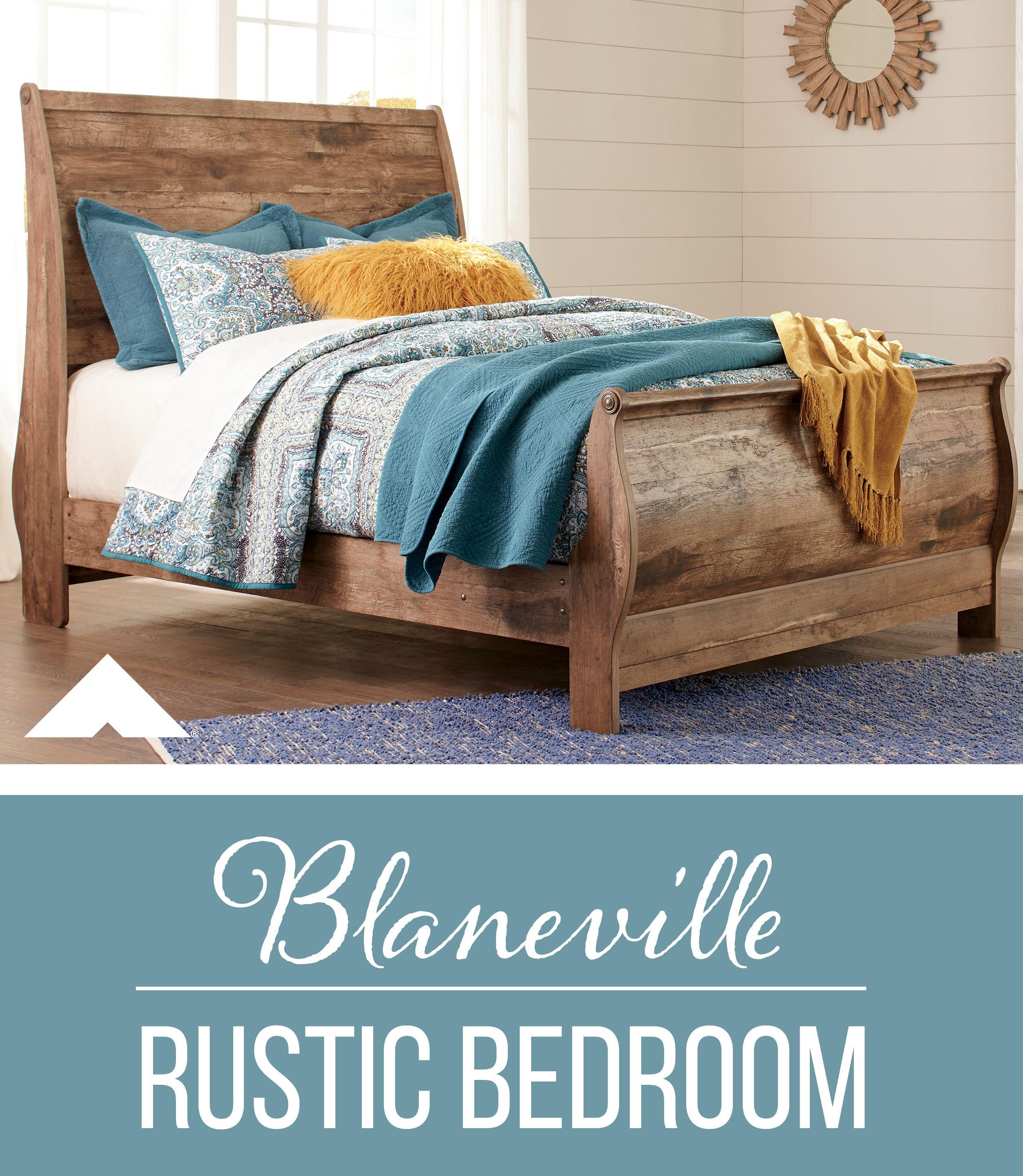 Blaneville Brown Bedroom Set By Ashley Furniture.