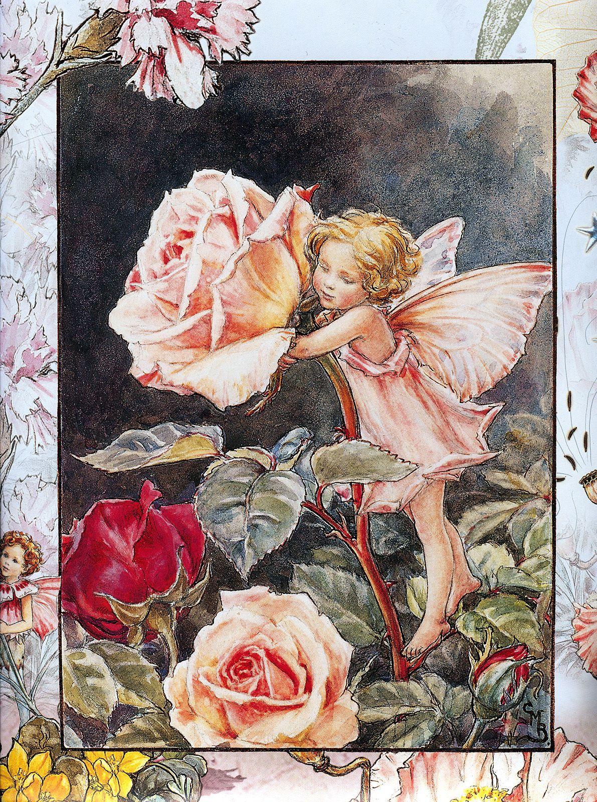 Днюхой для, цветочные феи открытки