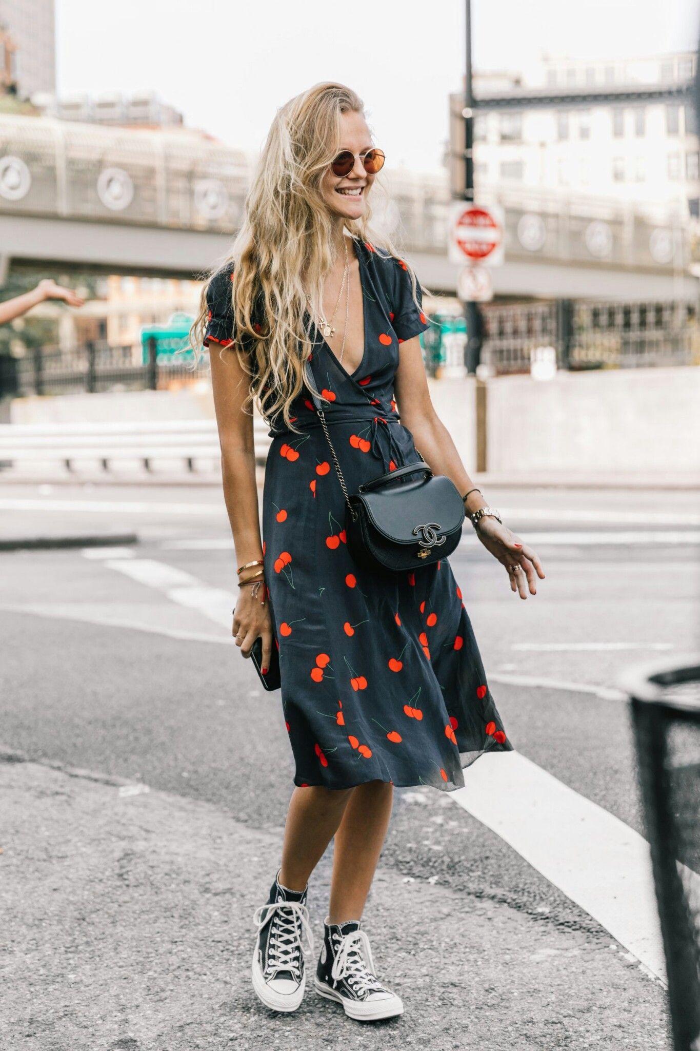 vestito converse donna