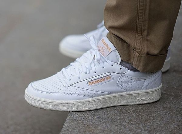 70878e526bb9d5 Sneakers · Men Fashion · Reebok Club C 85 Perforated -  hichem.og Club C  85