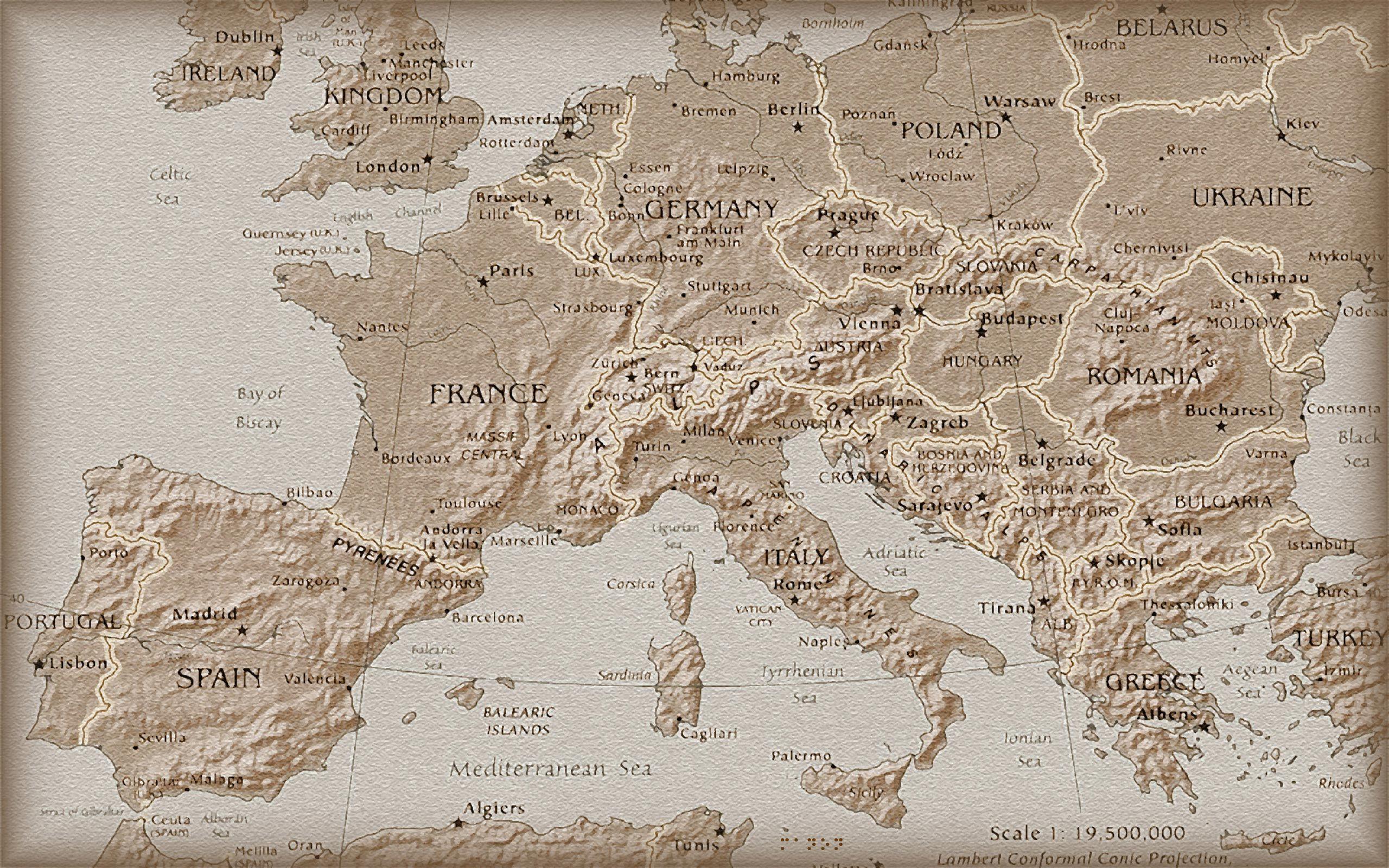 Antique Maps Ancient World Map Wallpaper Ancient World Maps World Map Wallpaper European Map