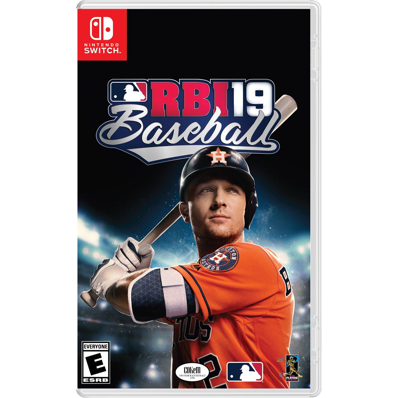 Rbi 19 Baseball Major League Baseball Nintendo Switch 696055207312 Walmart Com Mlb The Show Baseball Best Baseball Games