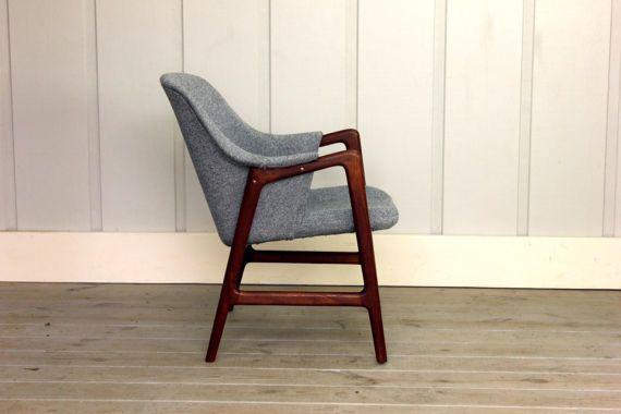 Ingmar Relling For Westnofa Teak Arm Chair Mid Century Modern