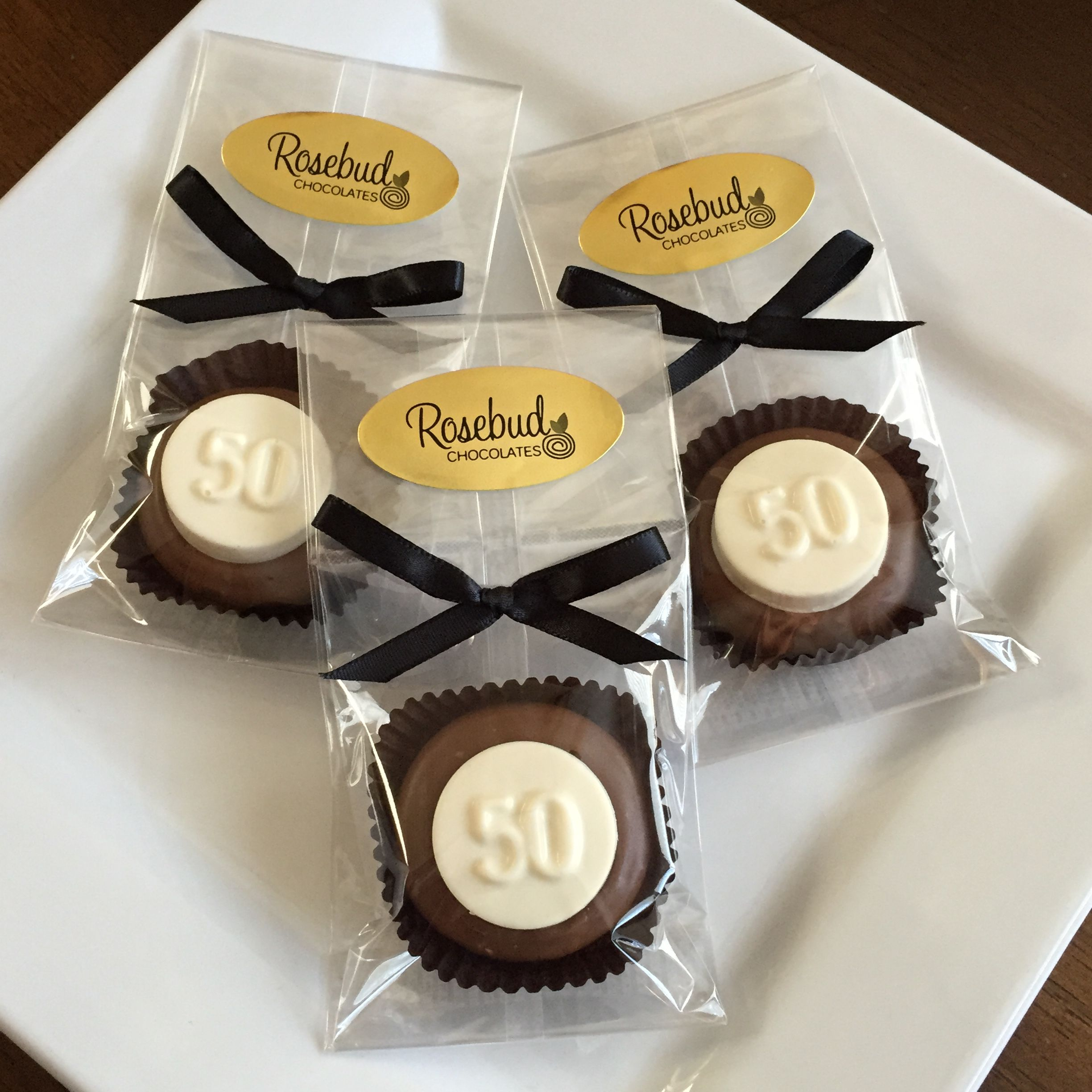 12 Chocolate NUMBER FIFTY #50 Oreo Cookie Favors In 2019
