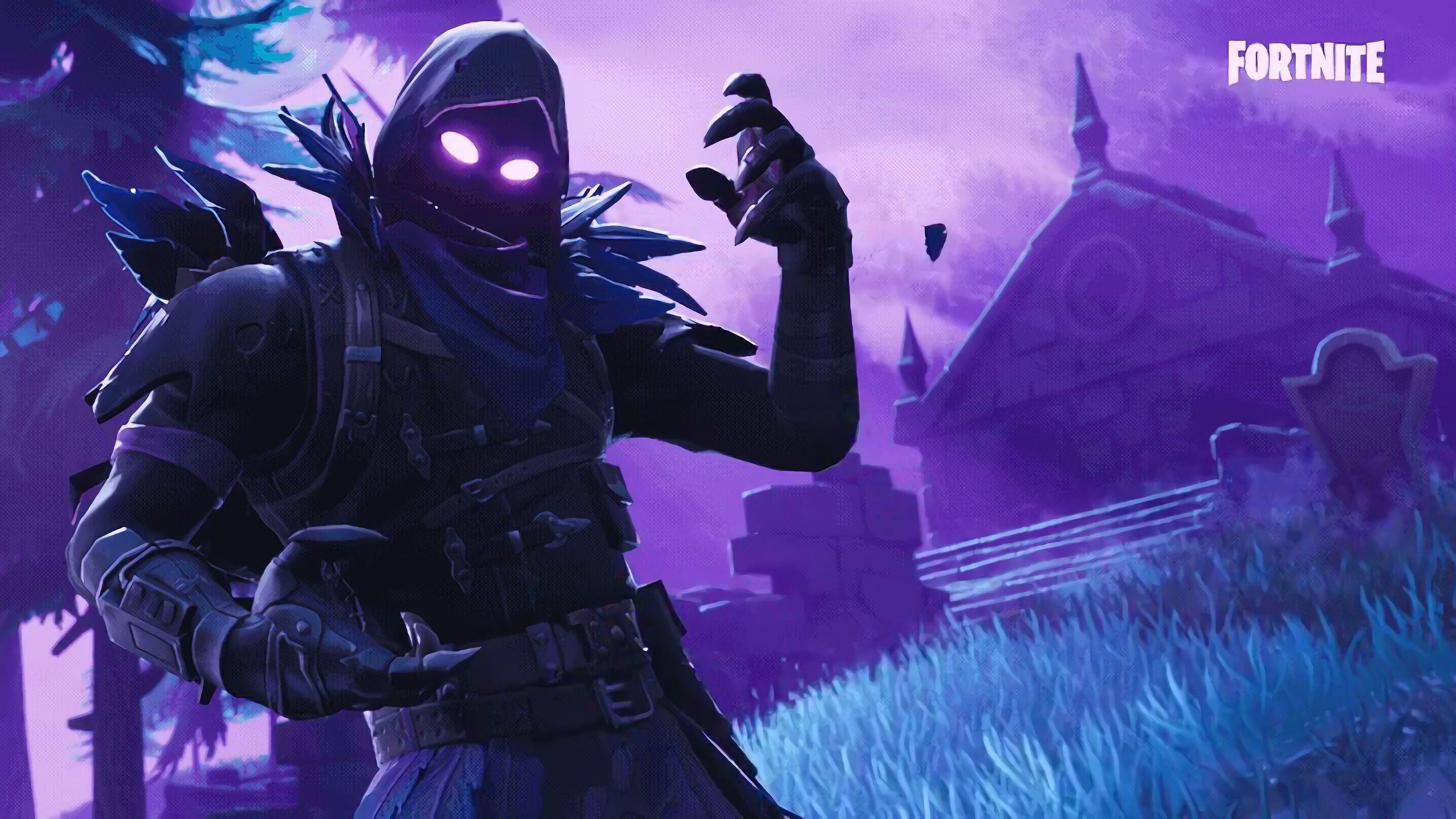 Raven Fortnite Battle Royale Video Game 3840x2160 Wallpaper